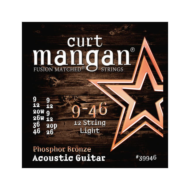 Image of   CurtMangan 39946PhosphorBronze 12-strengetwestern-guitarstrenge009-046