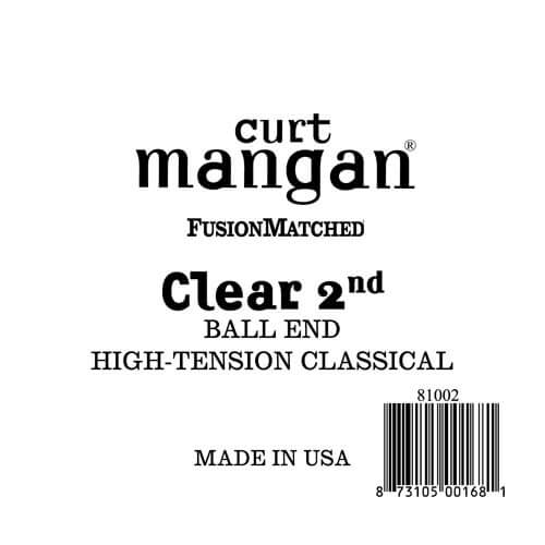 Image of   Curt Mangan 81002 løsnylon2ndspanskguitarstreng,ball-end,high-