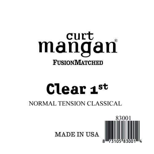 Image of   Curt Mangan 83001 løsnylon1stspanskguitarstreng,normal-tension