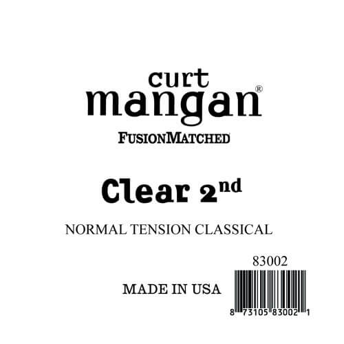 Image of   Curt Mangan 83002 løsnylon2ndspanskguitarstreng,normal-tension