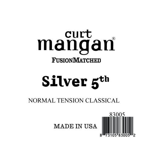 Image of   CurtMangan 83005 løssilver-wound5thspanskguitarstreng,normal-t
