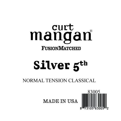 Image of   Curt Mangan 83005 løssilver-wound5thspanskguitarstreng,normal-t