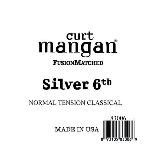 Image of   CurtMangan 83006 løssilver-wound6thspanskguitarstreng,normal-t
