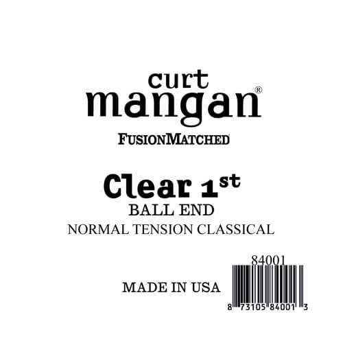 Image of   Curt Mangan 84001 løsnylon1stspanskguitarstreng,ball-end,norma