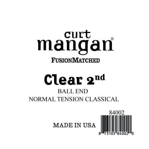 Image of   Curt Mangan 84002 løsnylon2ndspanskguitarstreng,ball-end,norma