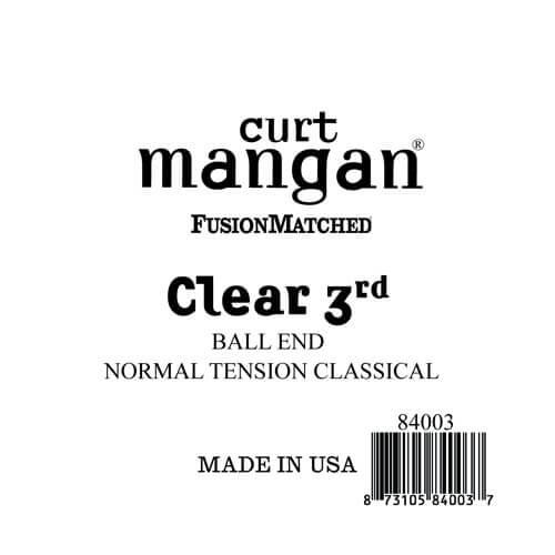 Image of   Curt Mangan 84003 løsnylon3rdspanskguitarstreng,ball-end,norma