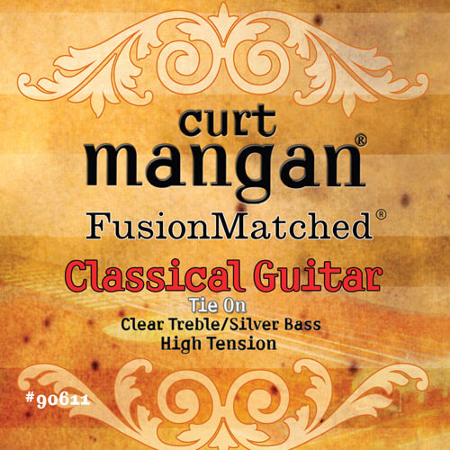 Image of   Curt Mangan 90611 spanskguitarstrenge,high-tension