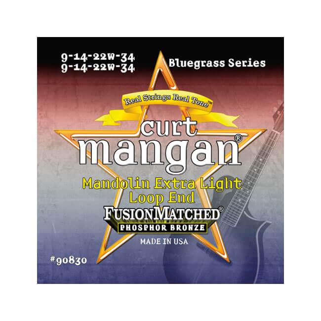Billede af CurtMangan 90830PhosphorBronze mandolin-strenge,loop-end009-034