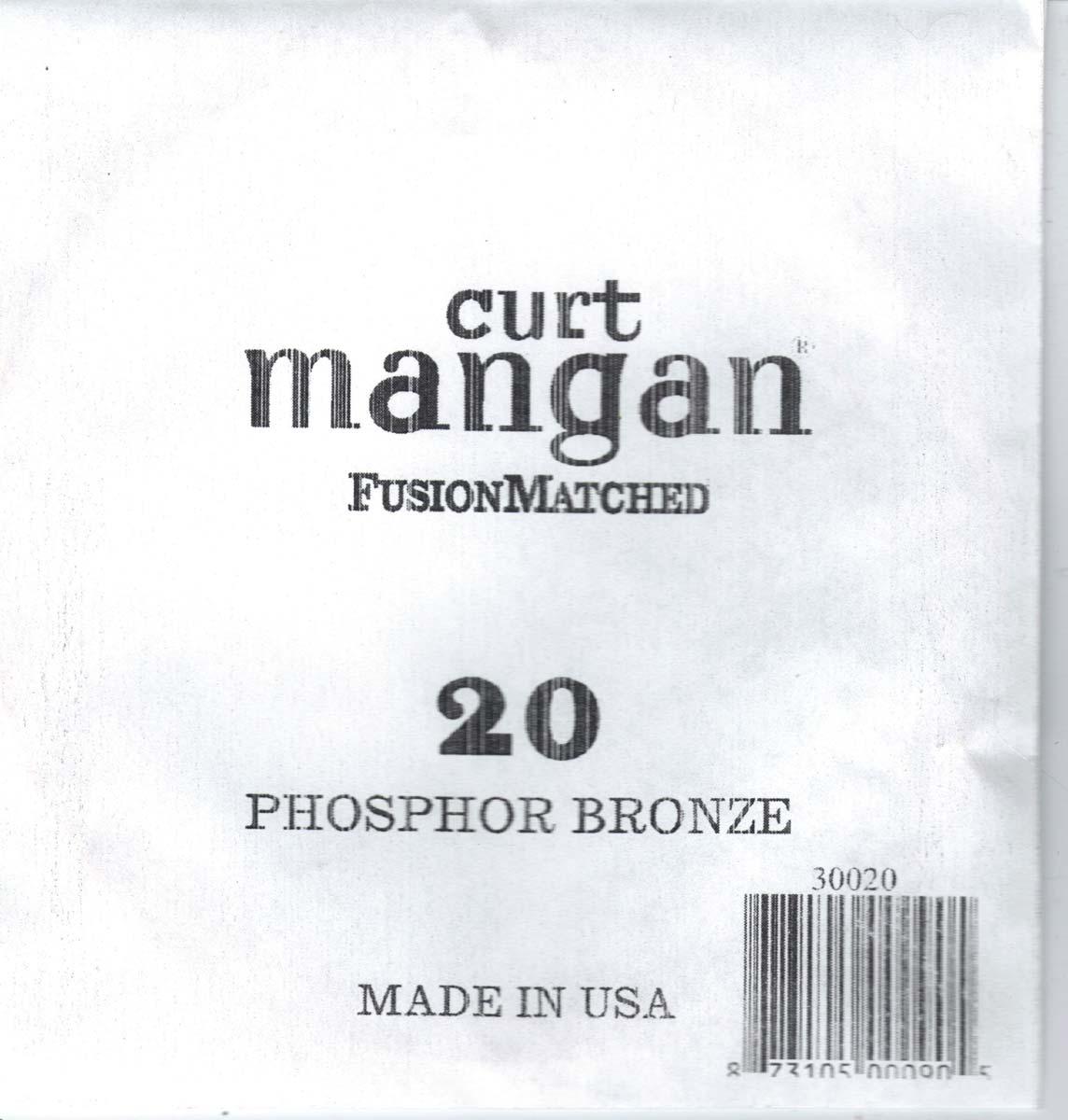 Image of   Curt Mangan 30020 løsphosphorbronzeguitarstreng.020