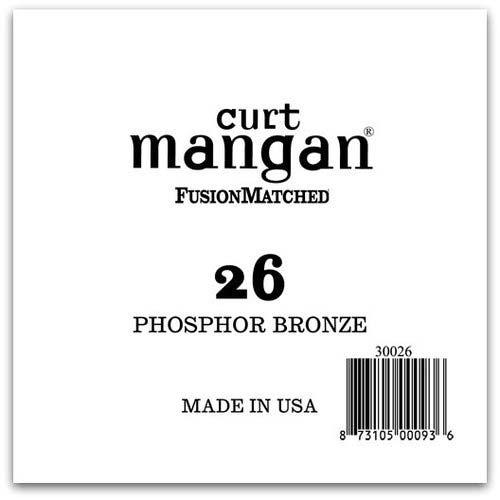 Image of   Curt Mangan 30026 løsphosphorbronzeguitarstreng.026