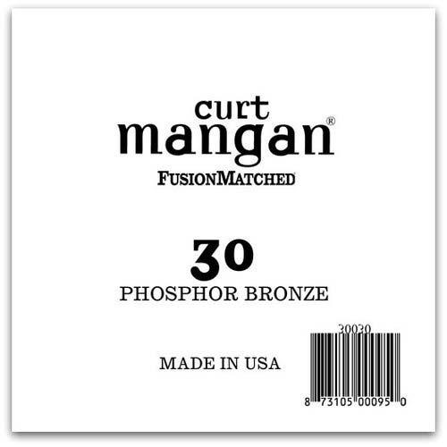 Image of   Curt Mangan 30030 løsphosphorbronzeguitarstreng.030