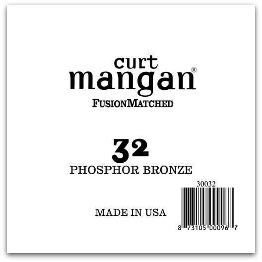 Image of   Curt Mangan 30032 løsphosphorbronzeguitarstreng.032