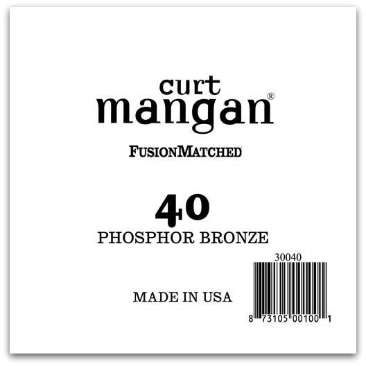 Image of   Curt Mangan 30040 løsphosphorbronzeguitarstreng.040