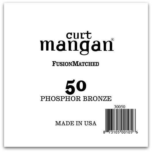 Image of   Curt Mangan 30050 løsphosphorbronzeguitarstreng.050