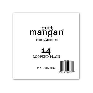 Image of   Curt Mangan 90014 løs loop end streng .014