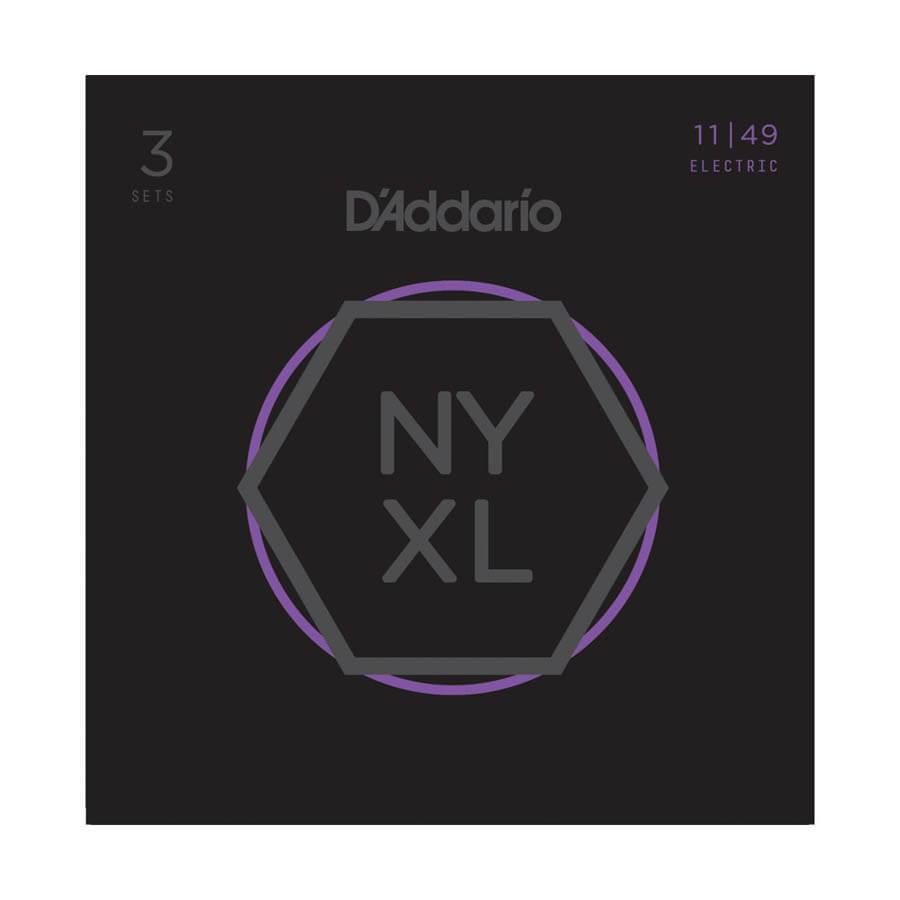 Image of   DAddario NYXL1149-3P el-guitar-strenge, 011-049 (3 sæt)