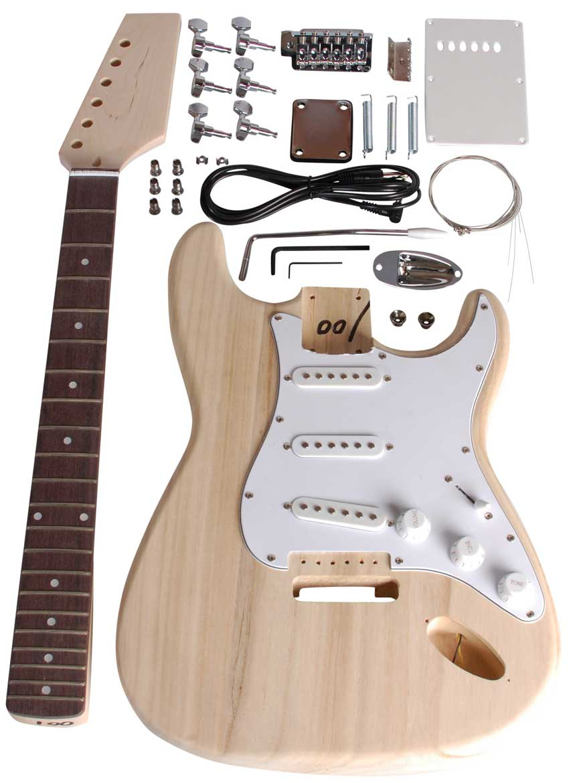 Image of   Beaton DIY-ST-11 el-guitar samle-selv-sæt