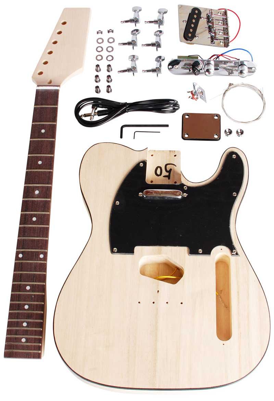 Image of   Beaton DIY-TL-12 el-guitar samle-selv-sæt