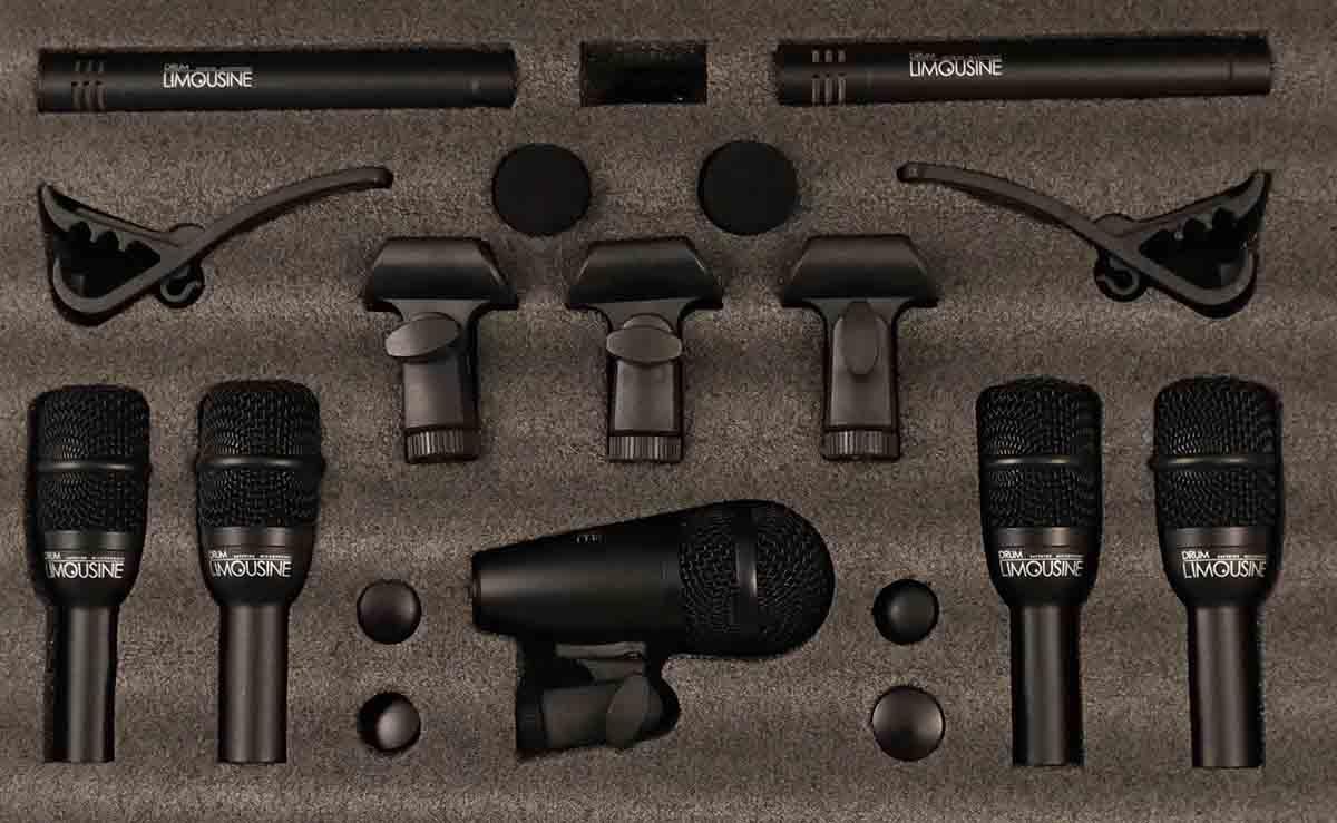 Drum Limousine Transmission 12-SET mikrofoner til trommesæt
