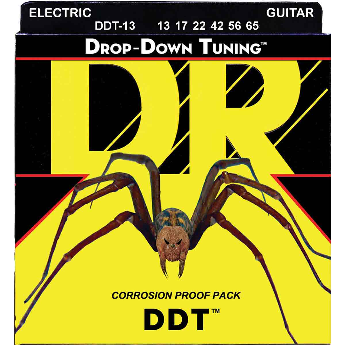 Image of   DR Strings DDT-13 el-guitar-strenge, 013-065