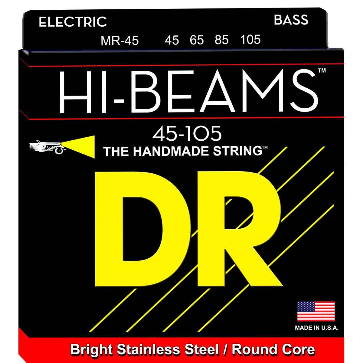 Billede af DR Strings MR-45 Hi-Beam bas-strenge, 0045-105