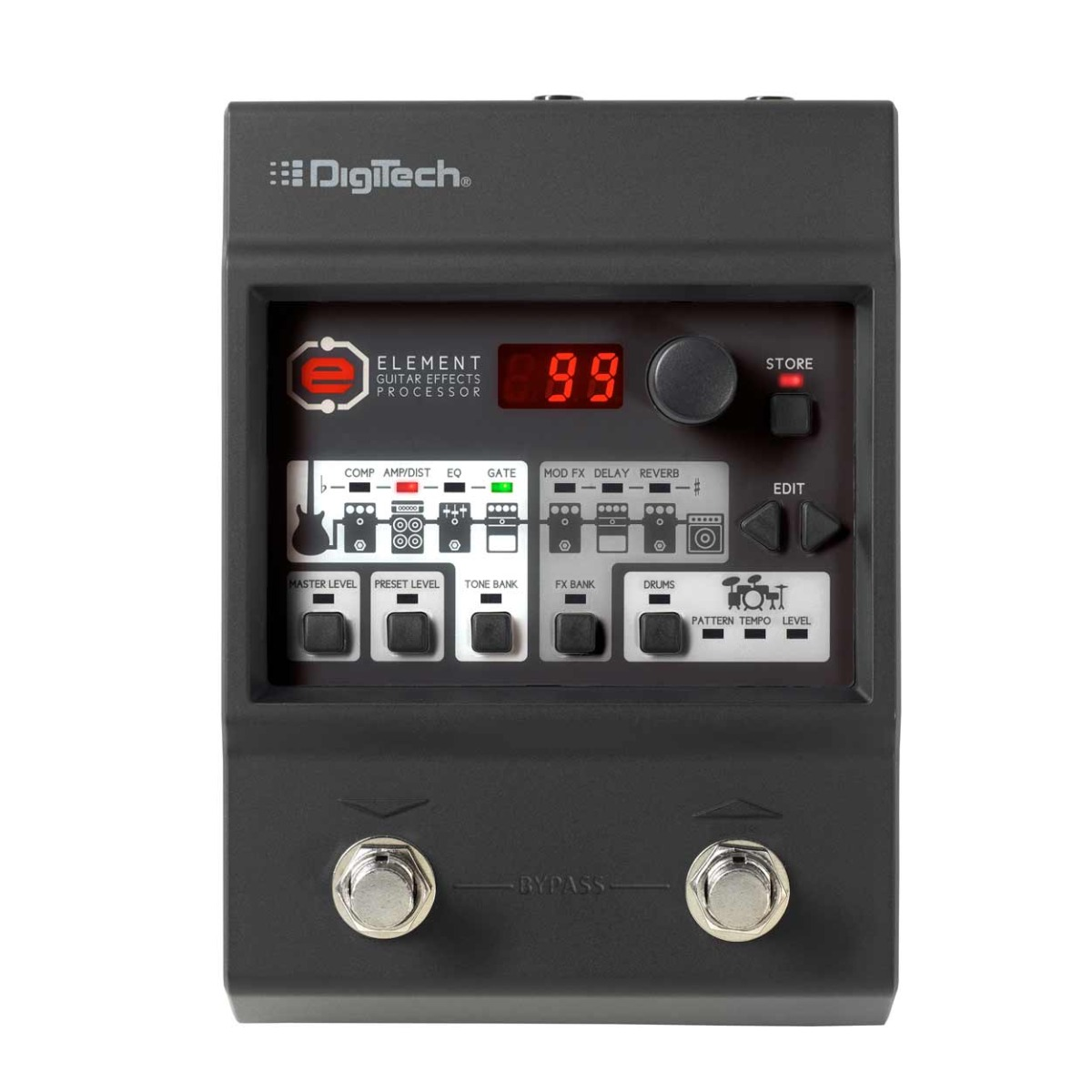 Digitech Element guitar-multieffekt-pedal