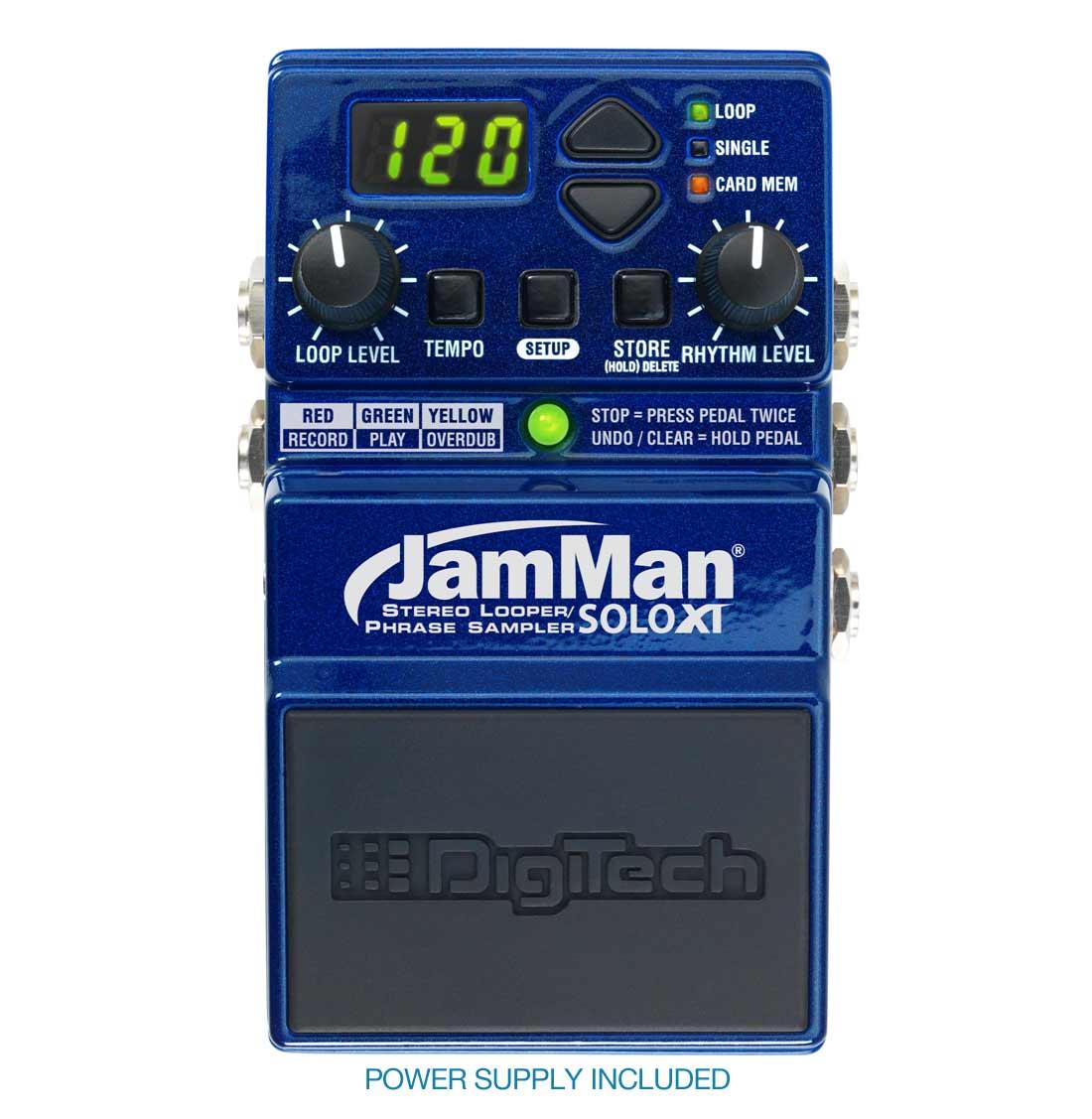 Digitech JamMan Solo XT loop-pedal