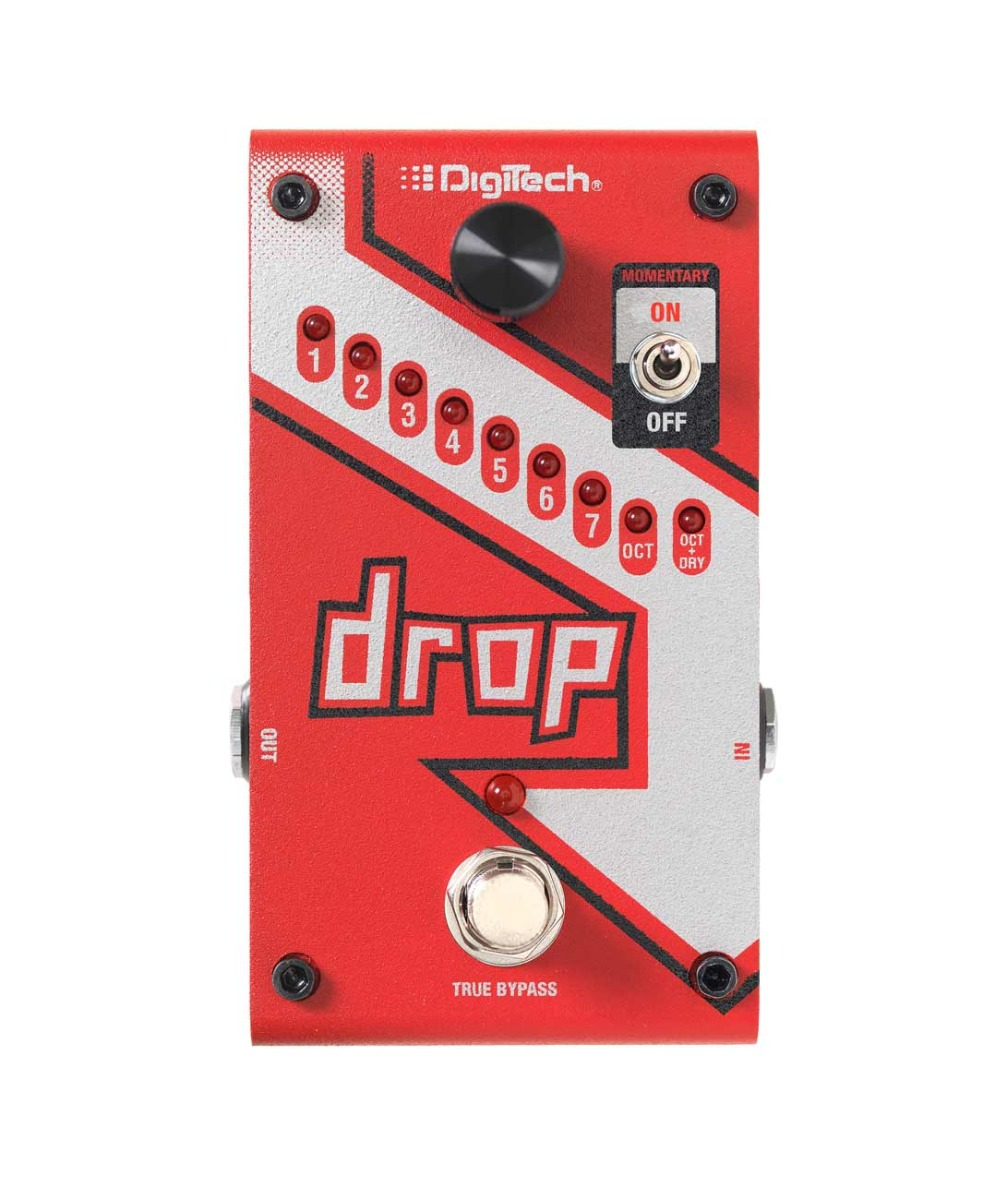 Digitech The Drop guitar-effekt-pedal