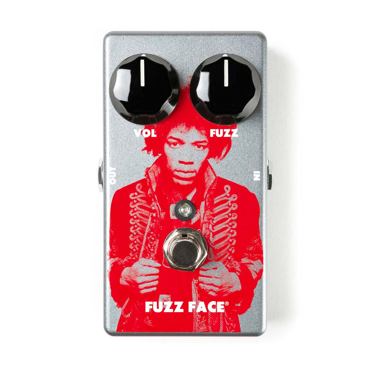 Dunlop Jimi Hendrix Fuzz Face LTD guitar-effekt-pedal