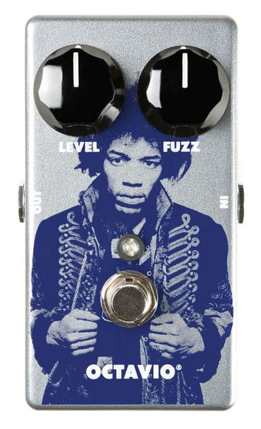 Dunlop Jimi Hendrix Octavio LTD guitar-effekt-pedal