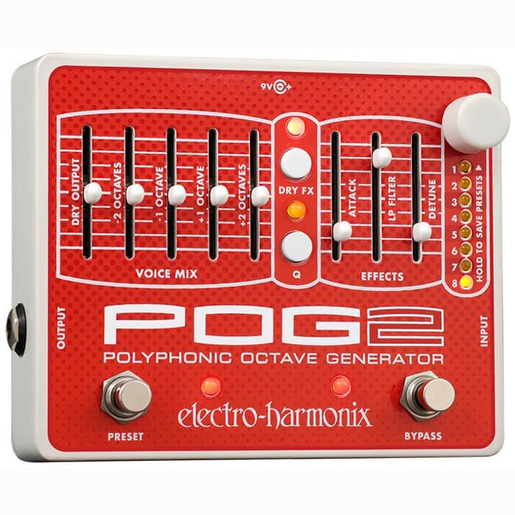 Electro Harmonix POG 2 guitar-effekt-pedal