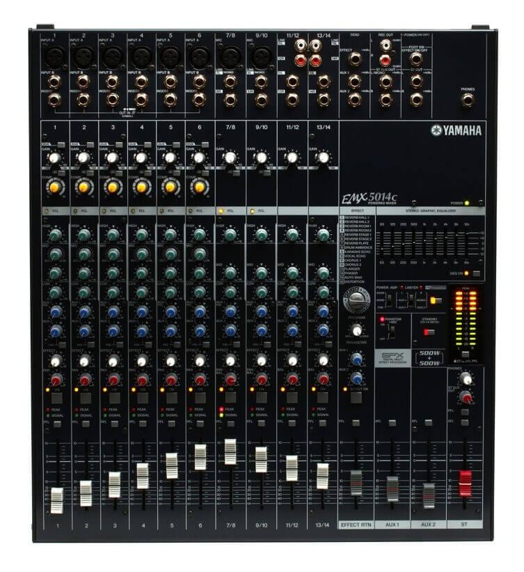 Yamaha EMX5014C powermixer