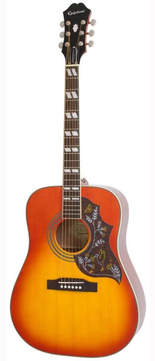 Image of   Epiphone HummingbirdPro western-guitar fadedcherryburst