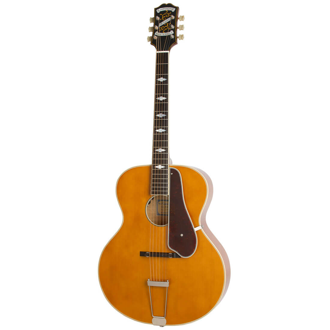 Image of   Epiphone Masterbilt De Luxe (Round hole) western-guitar vintage sunburst