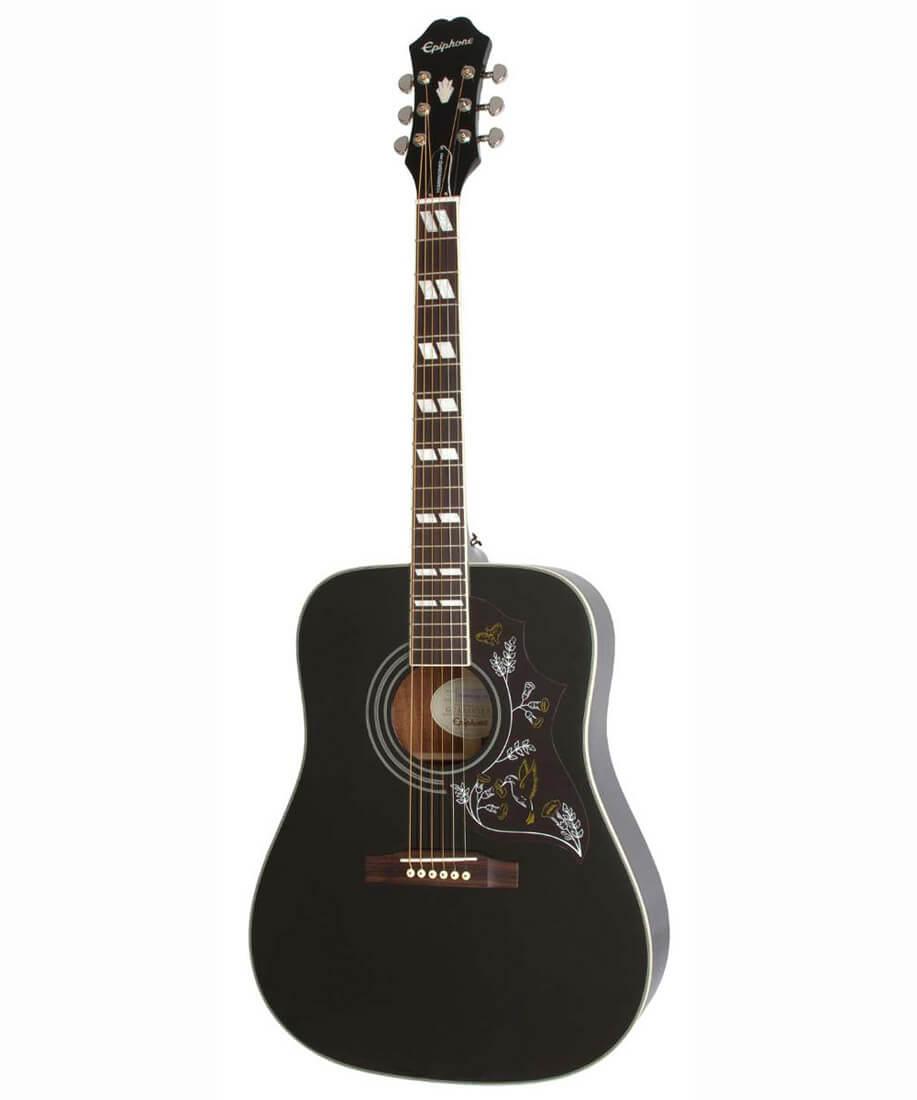 Image of   Epiphone Hummingbird Pro western-guitar Ebony