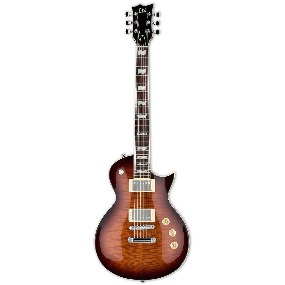 Esp Ltd EC-256FM DBSB el-guitar mørkebrun sunburst