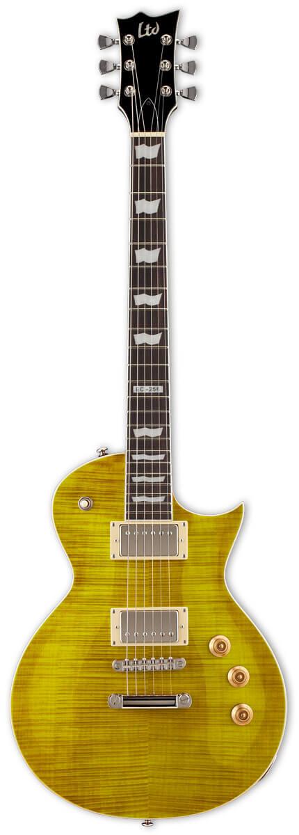 EspLtd EC-256FMLD el-guitar lemondrop
