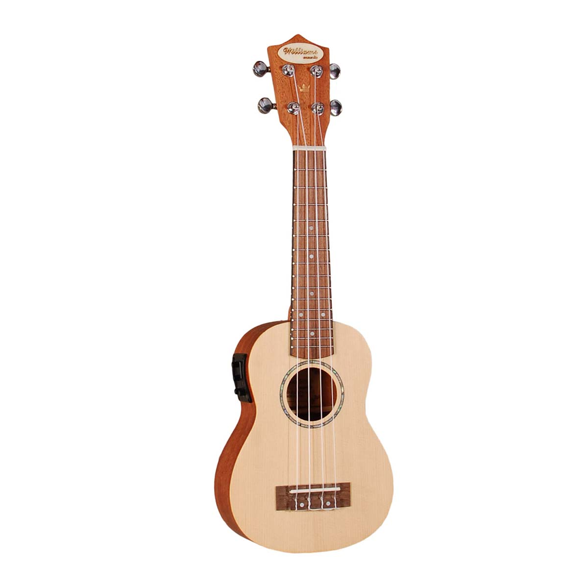 Køb Williams Acoustic EU200S-EQ v2 sopran ukulele til 999,00 kr.