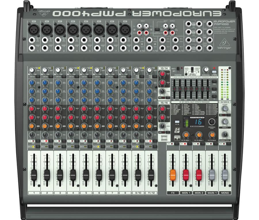 Behringer PMP4000Europower powermixer