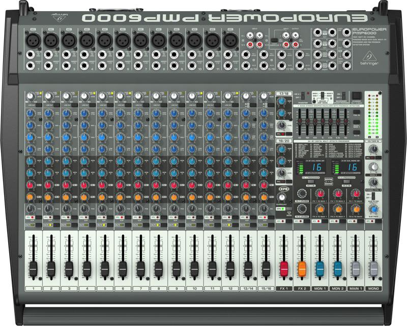 Behringer PMP6000Europower powermixer