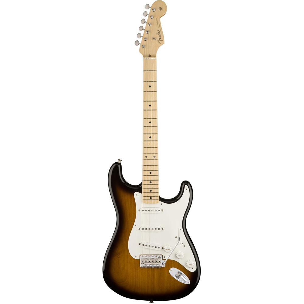 Image of   Fender American Original 50s Stratocaster, MN, 2TSB el-guitar 2-tone sunburst
