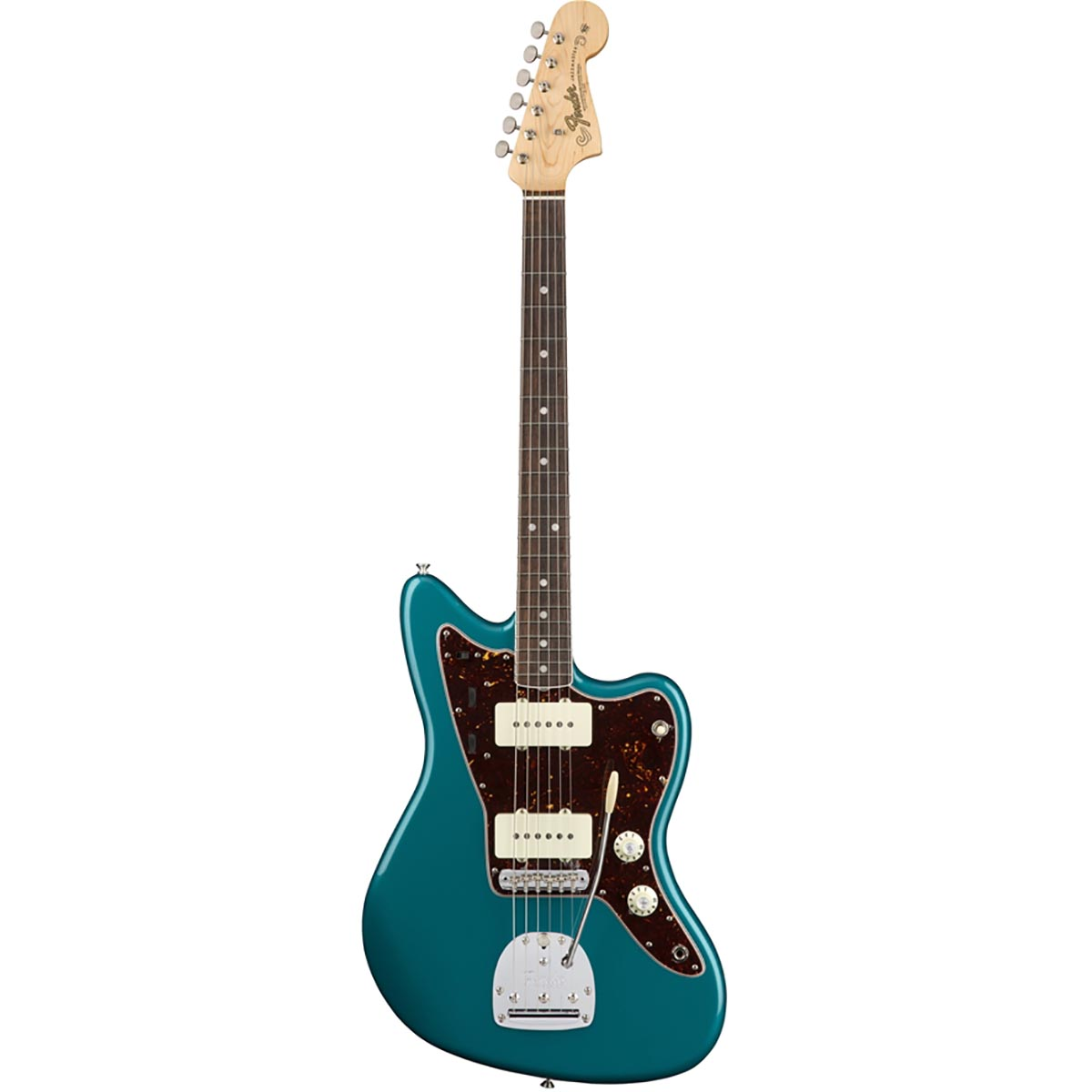 Image of   Fender American Original 60s Jazzmaster, RW, OCT el-guitar ocean turquoise