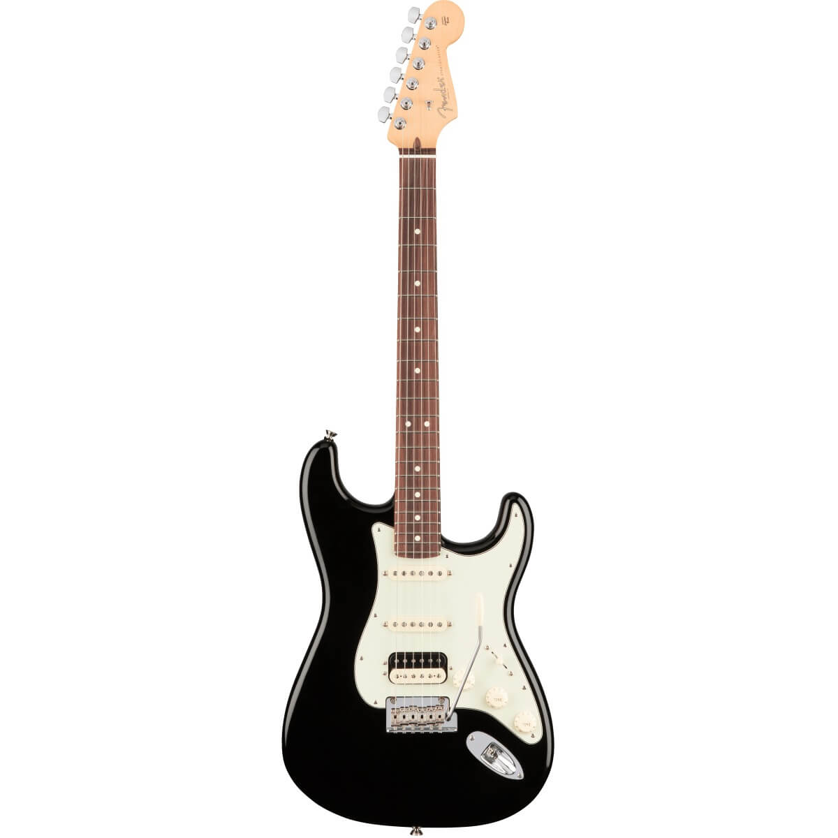 Image of   Fender AmericanProStratocaster,HSS,RW,BK el-guitar sort