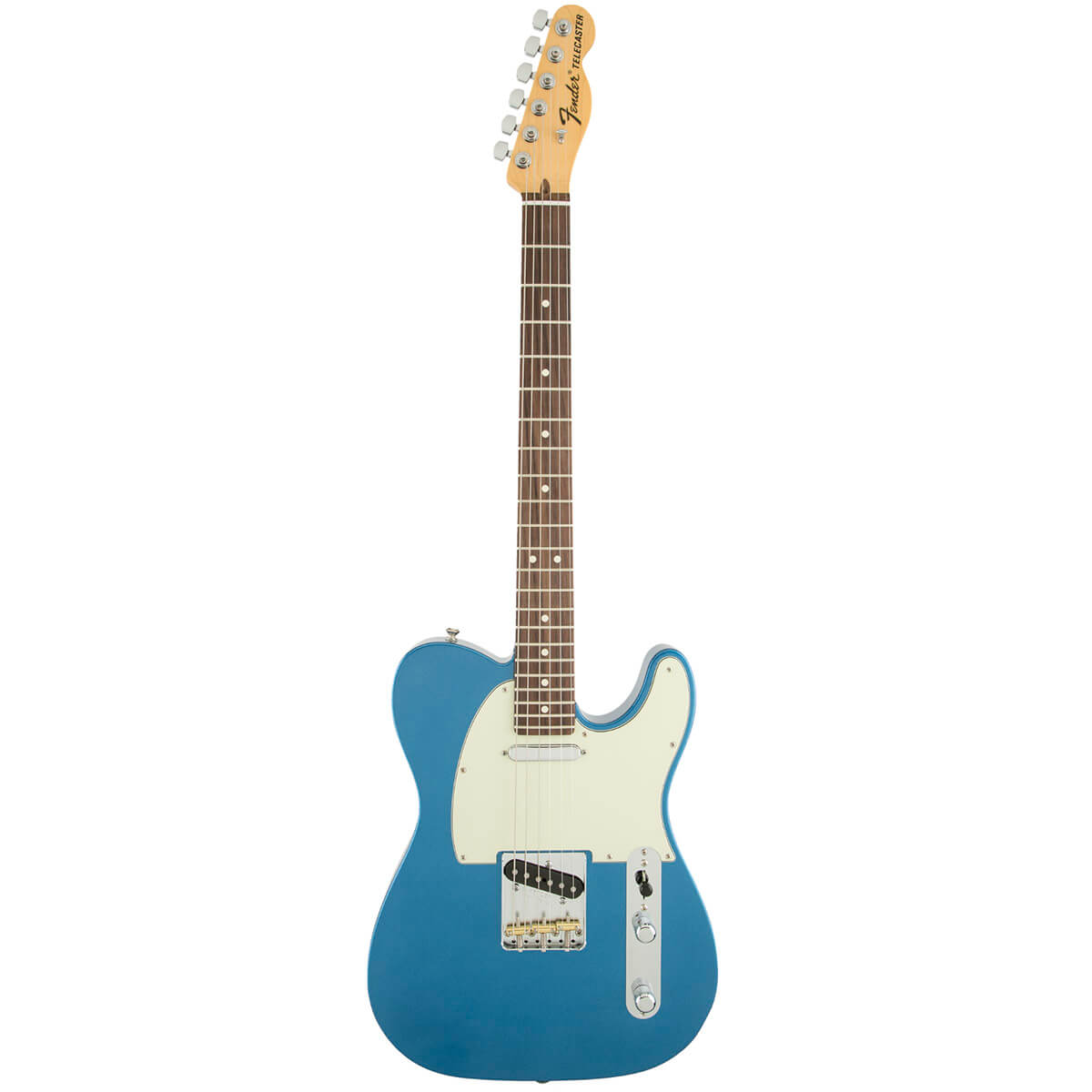 Fender AmericanSpecialTelecaster,RW,LPB el-guitar lakeplacidblue