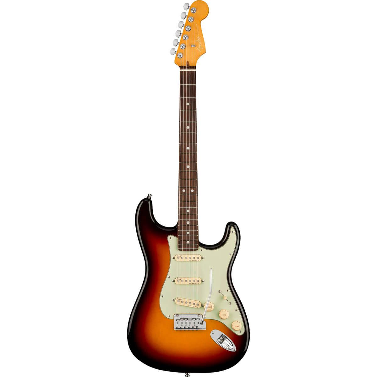 Image of   Fender American Ultra Stratocaster, RW, ULTRBST el-guitar ultraburst