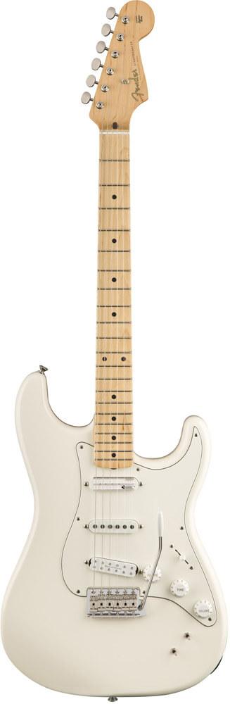 Fender EOB Ed OBrien Stratocaster, OWT el-guitar råhvid