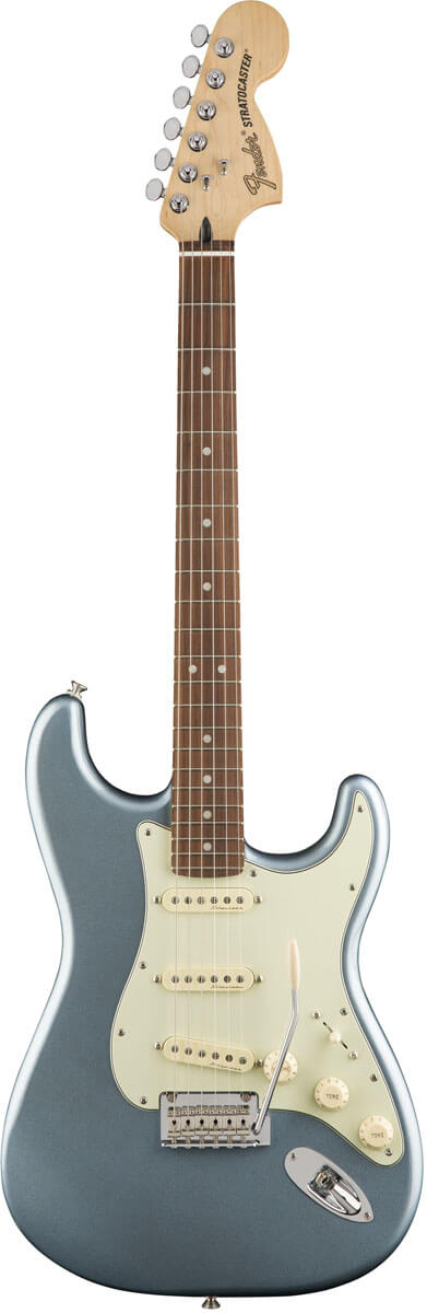 Fender Deluxe Roadhouse Stratocaster, PF, MIB el-guitar