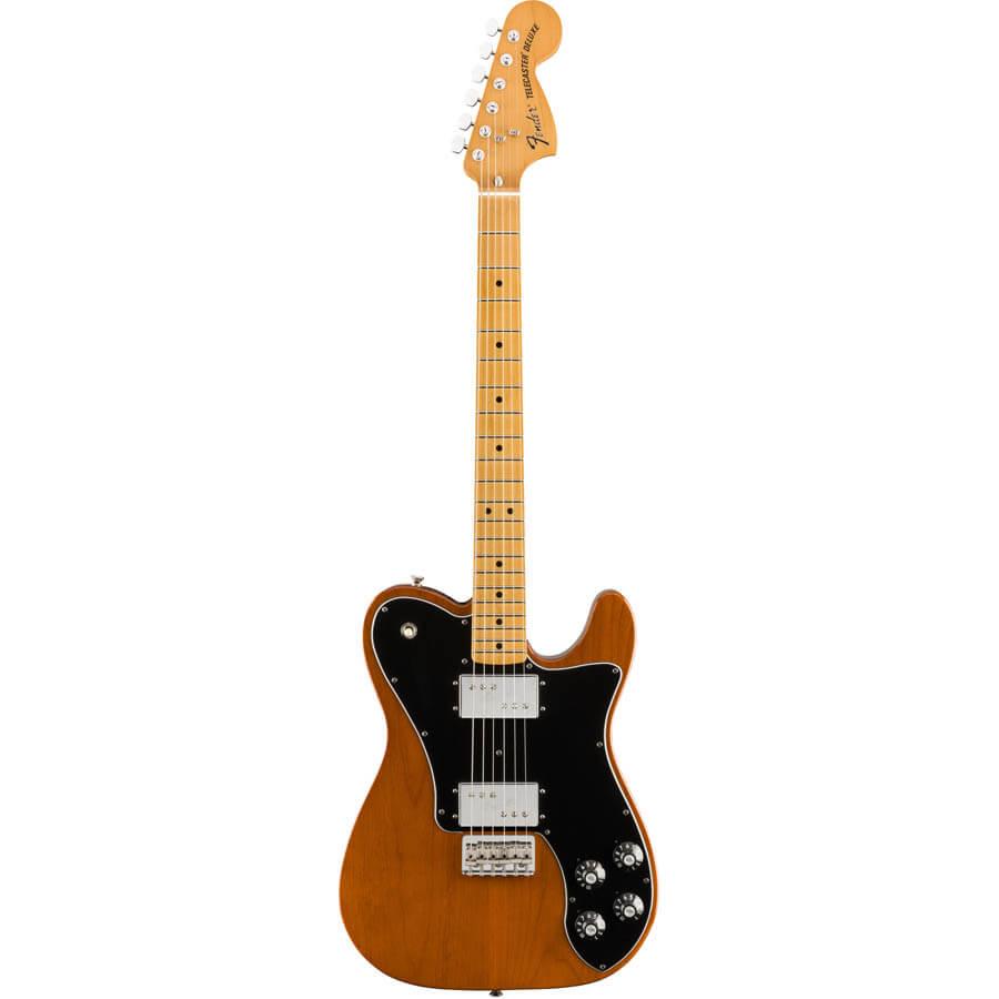 Image of   Fender Vintera 70s Telecaster Deluxe el-guitar mocha