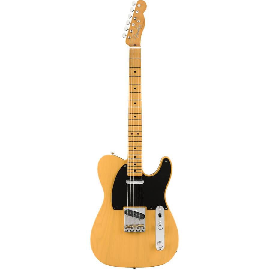 Image of   Fender Vintera 50s Telecaster , MN, BTB el-guitar butterscotch blonde