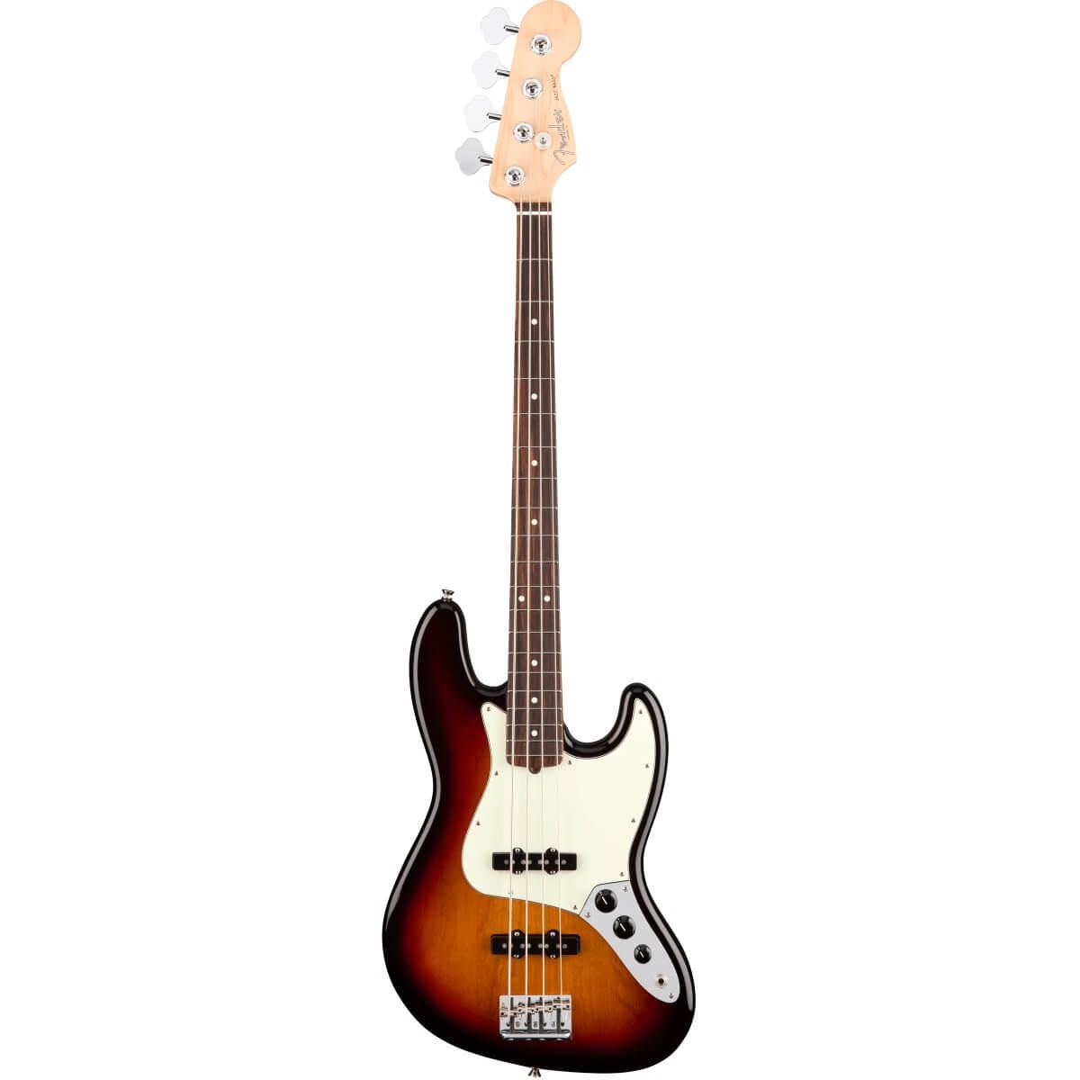Image of   Fender AmericanProJazzBass,RW,3TS el-bas